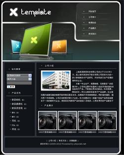 2009数码产品生产企业网站行业电脑、通讯、数码
