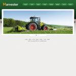农业机械网站(宽屏)模板
