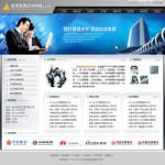 企业管理咨询公司网站模板
