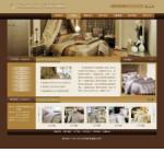 纺织品公司网站模板
