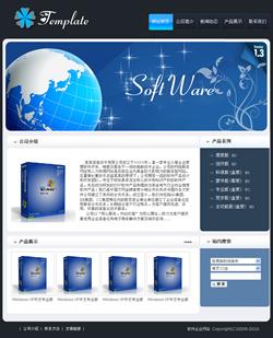 软件企业网站