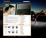 耳机生产企业网站模板