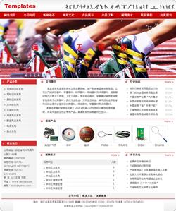 体育用品公司网站