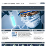 化工产品公司网站(英文)模板