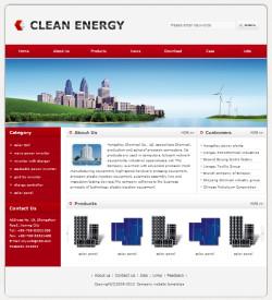 绿色能源设备网站(英文)