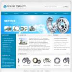 轴承企业网站(英文)模板