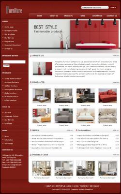 家具公司网站(英文)