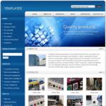 电子科技公司网站(英文)模板