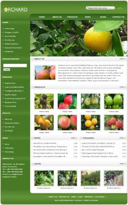 果园网站(英文)