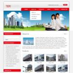 环保设备网站(英文)模板