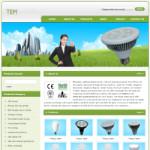 绿色照明公司网站(英文)