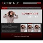 服装企业网站(英文)