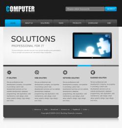 软件企业网站(英文)