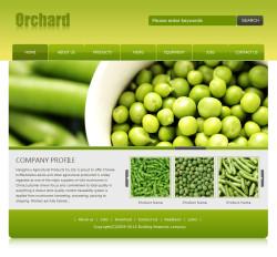 农产品网站(英文)