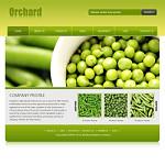 农产品网站(英文)模板
