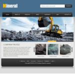 矿业公司网站(英文)模板