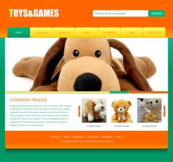 玩具公司网站(英文)